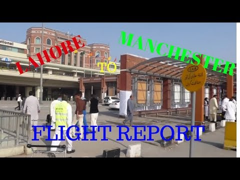 ✈FLIGHT REPORT✈ PIA, Pakistan International Airlines, Lahore to Manchester 777, PK709