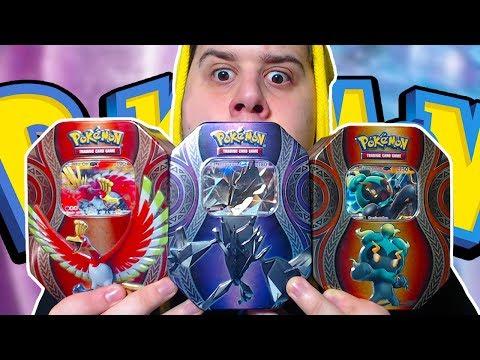 APRO 3 TIN E TROVO LA HYPER E LA ULTRA FULL ART! - Pack Opening Pokémon TIN Necrozma Marshadow Ho-Oh