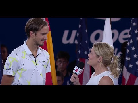 """Daniil Medvedev: """"Thank You Very Much From The Bottom Of My Heart"""" 