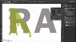 Gooey Text Photoshop tutorial