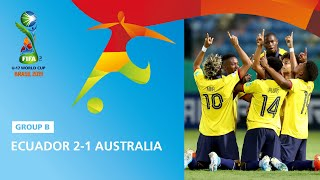 Gambar cover Ecuador v Australia Highlights - FIFA U17 World Cup 2019 ™