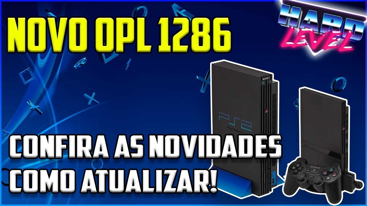 OPEN PS2 LOADER NOVA VERSÃO 1286 - DOWNLOAD, NOVIDADES E COMO ATUALIZAR!