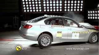 CRASH TEST BMW 3 Series 2012: 5 STAR Euro NCAP