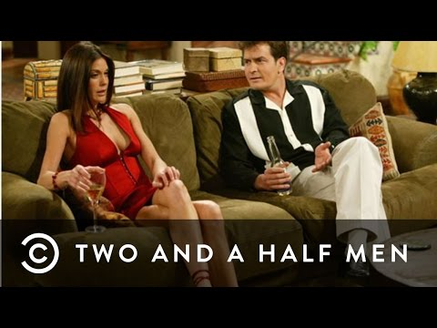 Teri Hatcher Talks About Sleeping With Charlie | Two and a Half Men