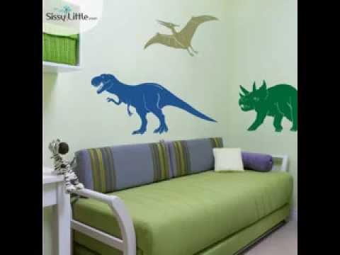 DIY Dinosaur Kids Room Decorating Ideas