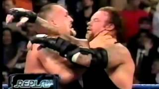 Handicap Match The Undertaker vs Brock Lesnar and The Big Show Part 22