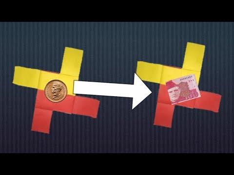 MAGIC ENVELOPE (TRICK) - DIY Tutorial by Paper Folds ❤️paper magic tricks by sta tv