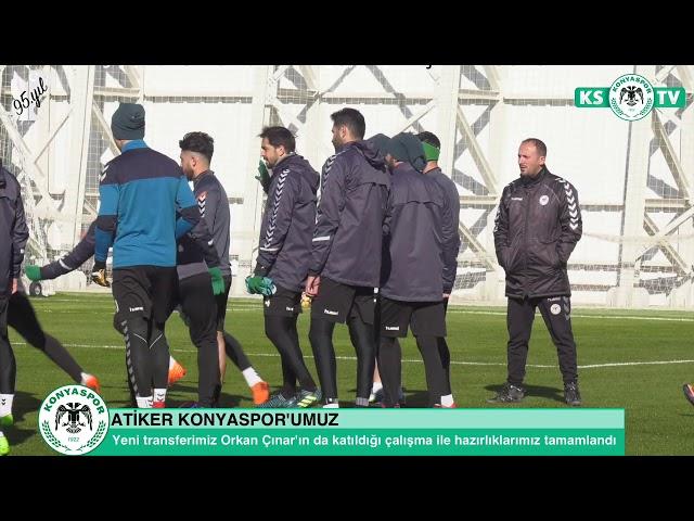 Takımımız Trabzonspor maçının son çalışmasını yaptı