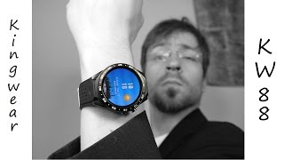 China Watch Kingwear KW88 - AMOLED trifft Android - Review - Deutsch