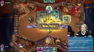 Hearthstone with Jenna