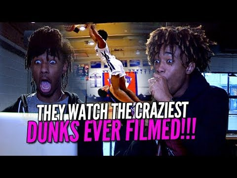 THEY WATCH THE CRAZIEST DUNKS ON THE INTERNET! Kaden Archie BCB Reaction.
