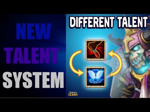 New Talent System?+Top 5 Bases of No1 Guild In Castle Clash!!!