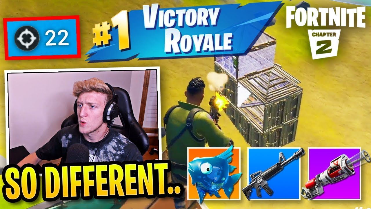 Tfue FIRST Victory Royale in Fortnite Chapter 2! thumbnail