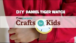 Daniel Tiger Watch | Crafts for Kids | PBS Parents
