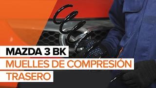 Cómo reemplazar muelles de compresión trasero en MAZDA 3 BK INSTRUCCIÓN | AUTODOC