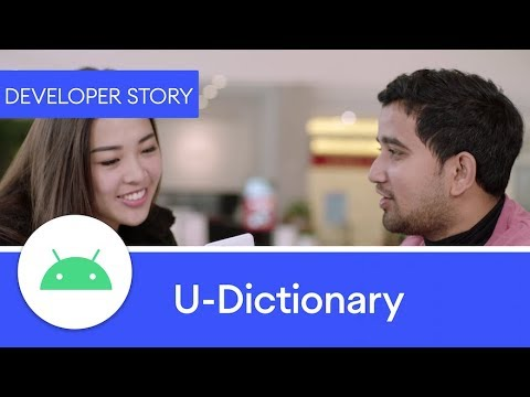 U-Dictionary - Achieving global success with Android 10