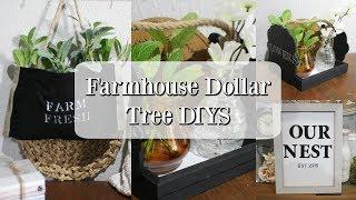 FARMHOUSE DOLLAR TREE DIYS | FARMHOUSE DECORATING IDEAS