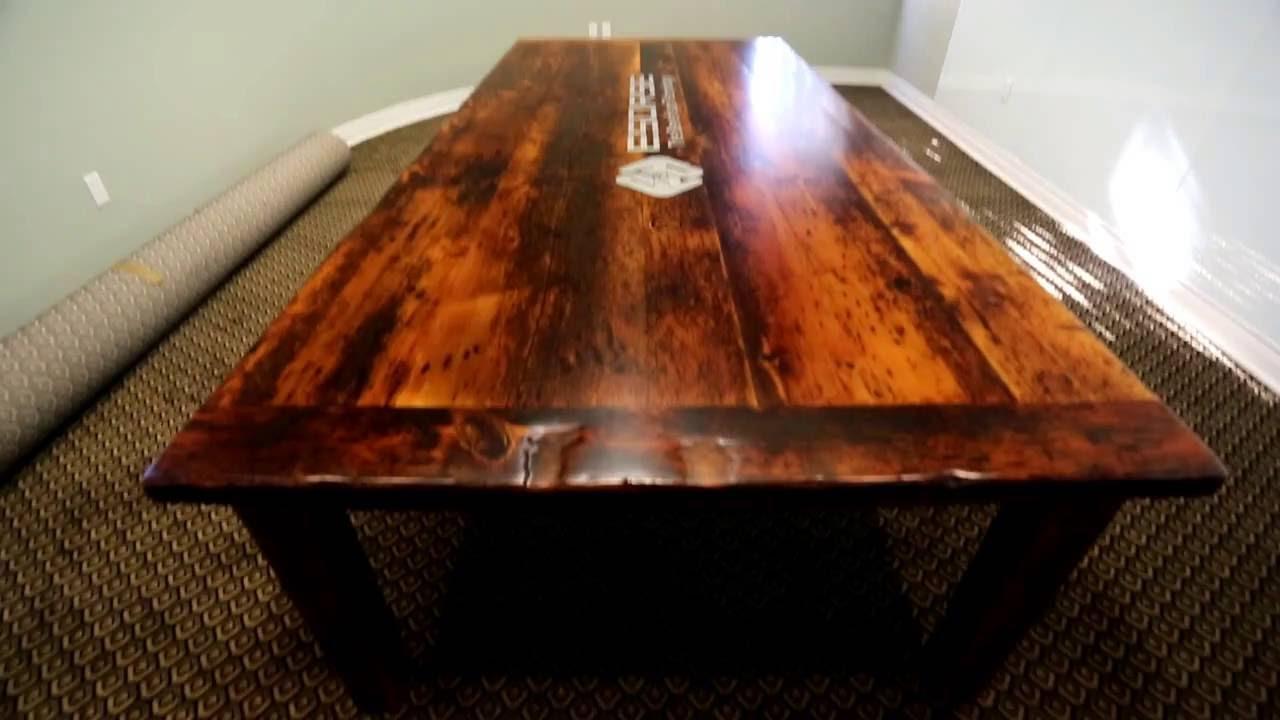 Reclaimed Wood Boardroom Tables By HD Threshing Floor Furniture - Wooden boardroom table