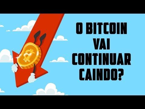 O Bitcoin vai continuar caindo? - Pontos importantes