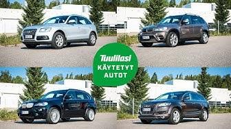 Käytetyt 30 000 euron jättimaasturit: Audi Q5 / Audi Q7 / BMW X5