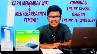 Cara Menembak Sinyal WiFi dan Menyebarkannya Kembali
