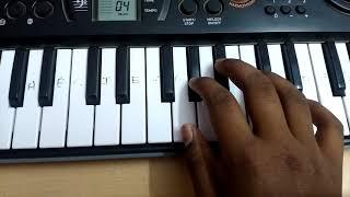 Mersal Vetri ( Magician Vijay) BGM keyboard notes