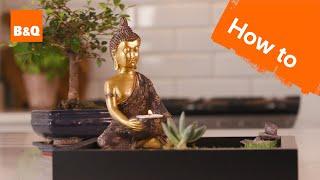 How to Make an Indoor Zen Garden
