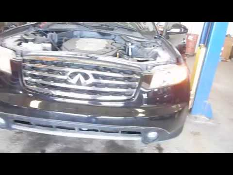 17H0863, 2007 INFINITI FX SERIES, 3.5, A.T., 4WD, 109,561 MILES, MORRISON'S AUTO SALVAGE