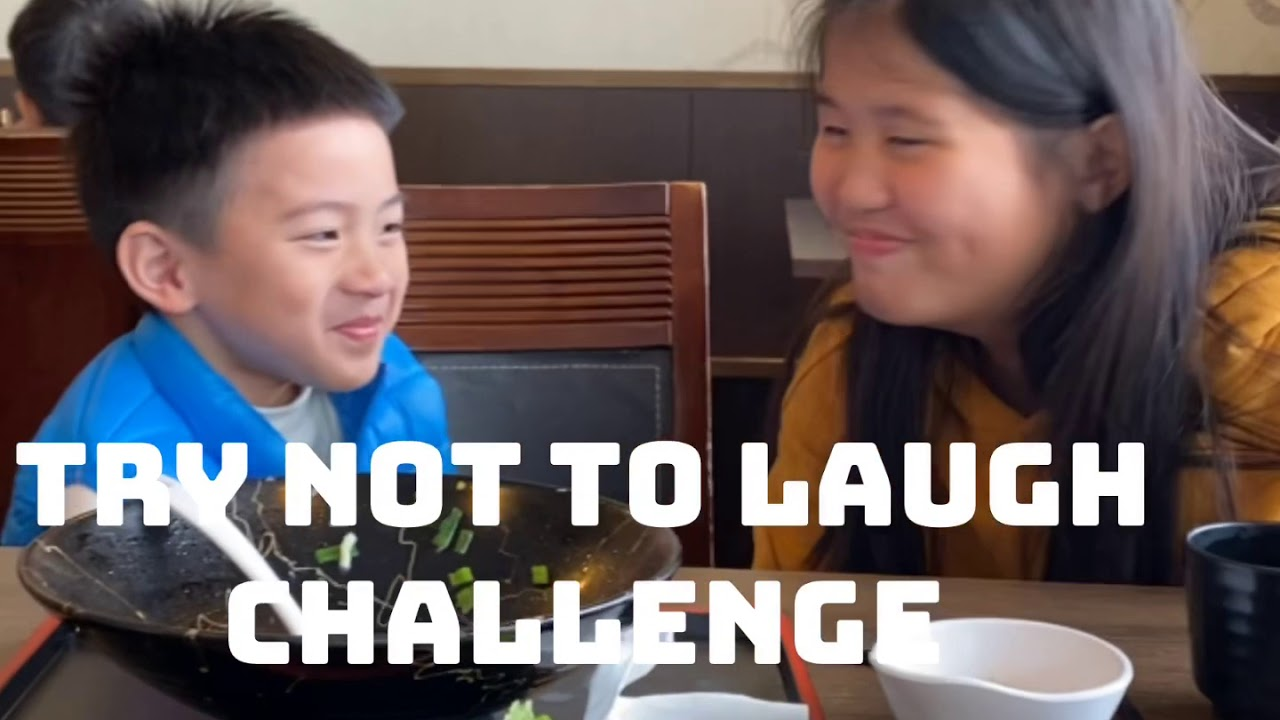 Try not to Laugh Challenge/Fil-Taiwanese Kids