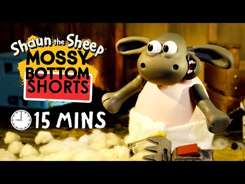 Shaun the Sheep – Mossy Bottom Shorts 01-15 [30MINS]