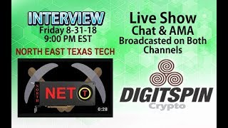 $ETN #Electroneum #Bittube - Digitspin & NorthEast Texas - Live Chat and AMA Show - Mining