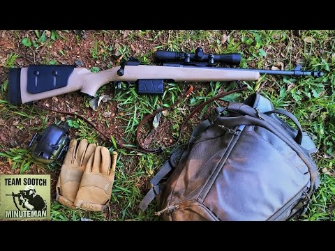Savage 11 .308 Scout Rifle