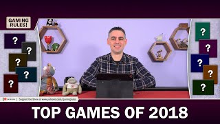 Top 10 board games of 2018 according to Gaming Rules!