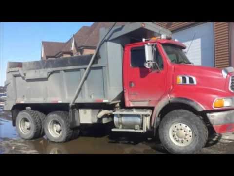 Sand & Gravel Dump Trucks