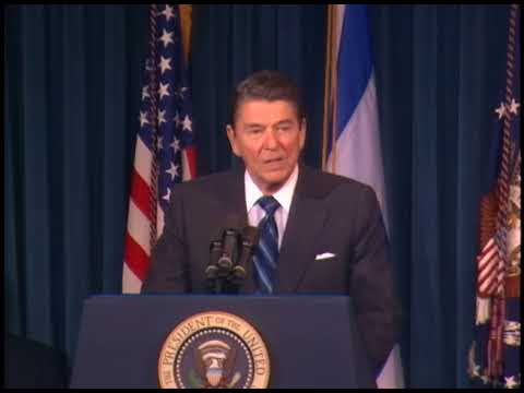 President Reagan's Remarks on Signing the Israel-U.S.Radio Site Agreement on June 18, 1987