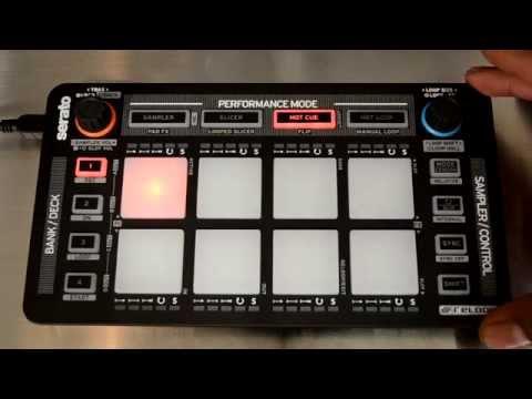 Reloop NEON Serato DJ Accessory Controller Review Video