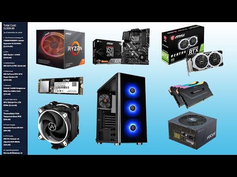 The Best $1,500 High-End Gaming PC Build for Black Friday 2019