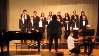 日本学科の旭川福祉専門学校 合唱