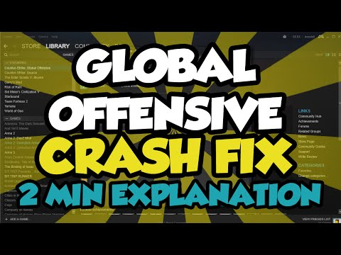 CS:GO CRASH FIX 2016 (WORKING) - How To Fix Global Offensive From Crashing 2016