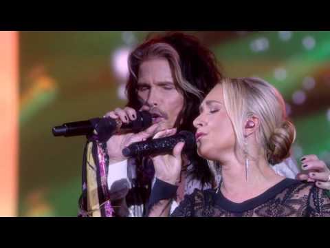 Steven Tyler and Hayden Panettiere (Juliette Barnes) Sing 'Crazy' - Nashville