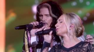 Steven Tyler And Hayden Panettiere Juliette Barnes Sing Crazy