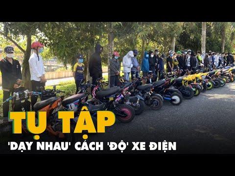 Đang dịch, 29 học sinh tụ tập 'dạy nhau' cách 'độ' xe điện, công an xử lý ngay