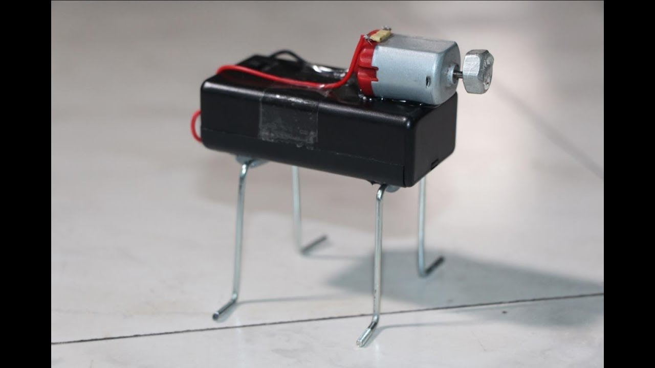how to make Vibration Motor at home