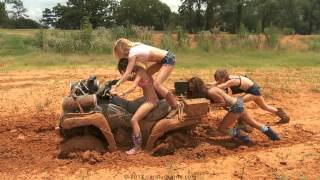 Car Stuck Girls - Offroad 4x4