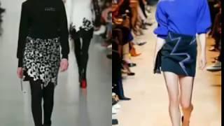 видео Модные юбки осень-зима 2017-2018