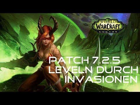 Twinks nebenbei schnell Leveln durch Invasionen! l 7.2.5 [World of Warcraft Legion] Deutsch