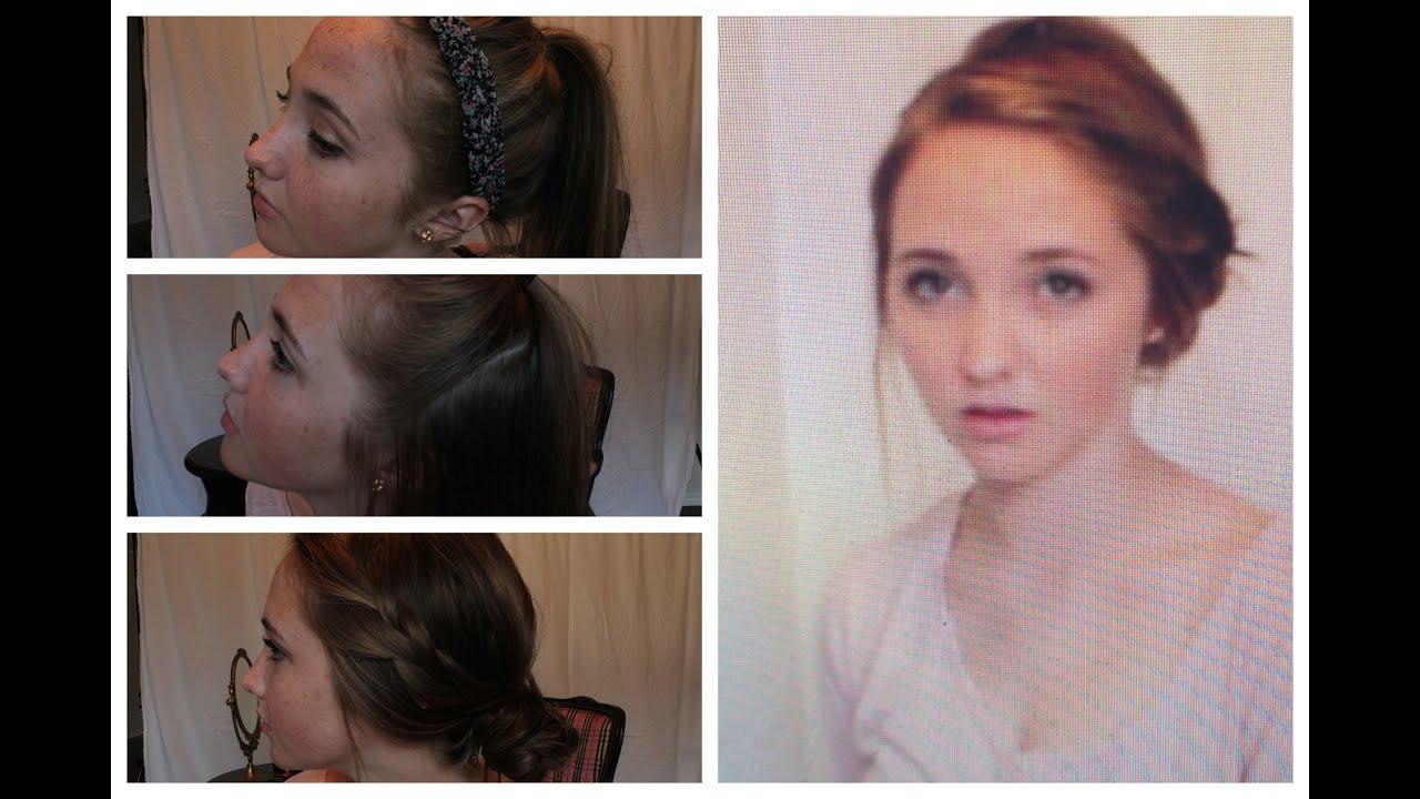 three 5-minute heatless hairstyles