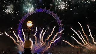 New Years Eve 2017 fireworks London Full