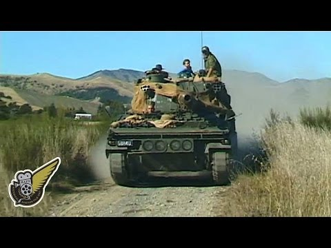 Abbot Self Propelled Gun At High Speed