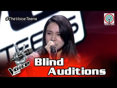 The Voice Teens Philippines Blind Audition: Mitzi Casacop - Rather Be